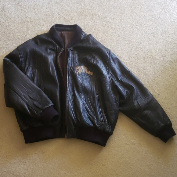 Planet Hollywood Other - Planet Hollywood LV Leather/Reversible Jacket